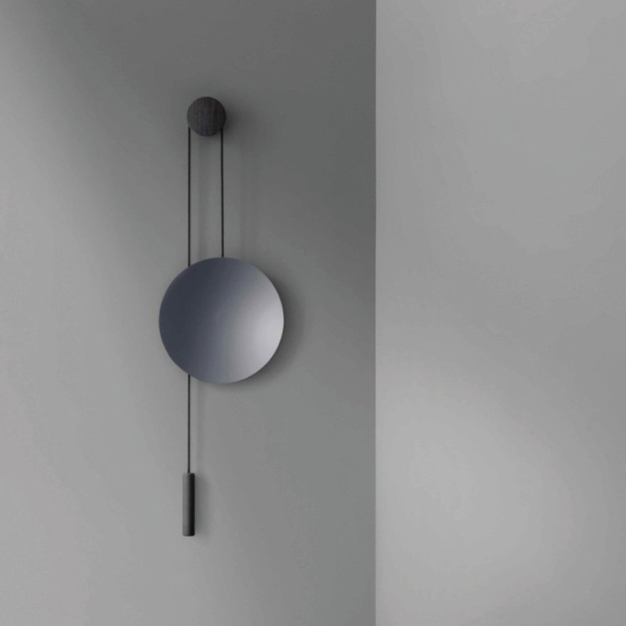 In Balance – The Rise & Shine Wall Mirror Design by Hunting & Narud for New Works