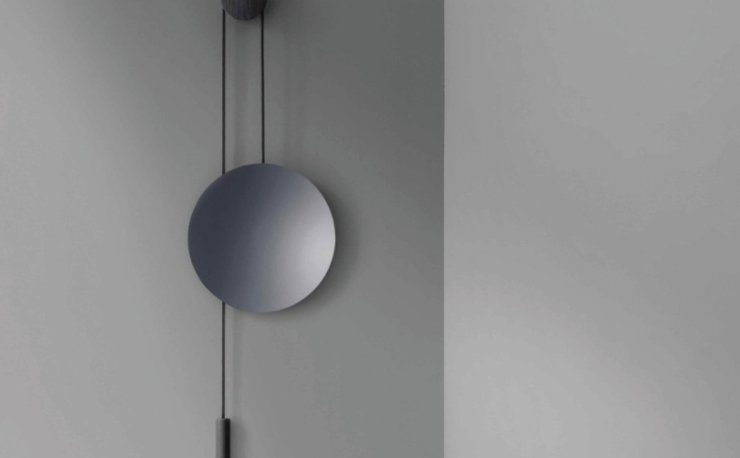 An Asymmetrical Composition - The Rise & Shine Wall Mirror Design by Hunting & Narud for New Works, Interior 3000 Design Blog Interior Design furniture Design