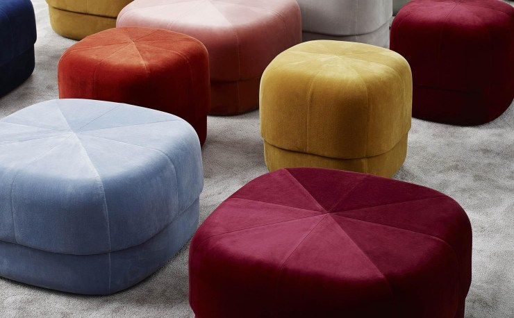 Normann Copenhagen - Circus Pouf - Colorful Design Stool by Simon Legald - Interior 3000 Design Blog - Interior Design - Furniture Design