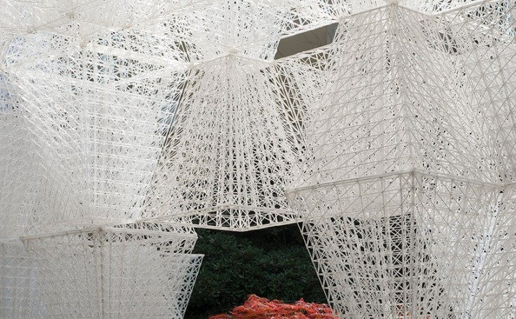 Poetic 3D Printed Bio-Plastic - COS Installation at the 2019 Milan Design Week with Arthur Mamou-Mani - Interior 3000 Design Blog - Interior Design - Furniture Design