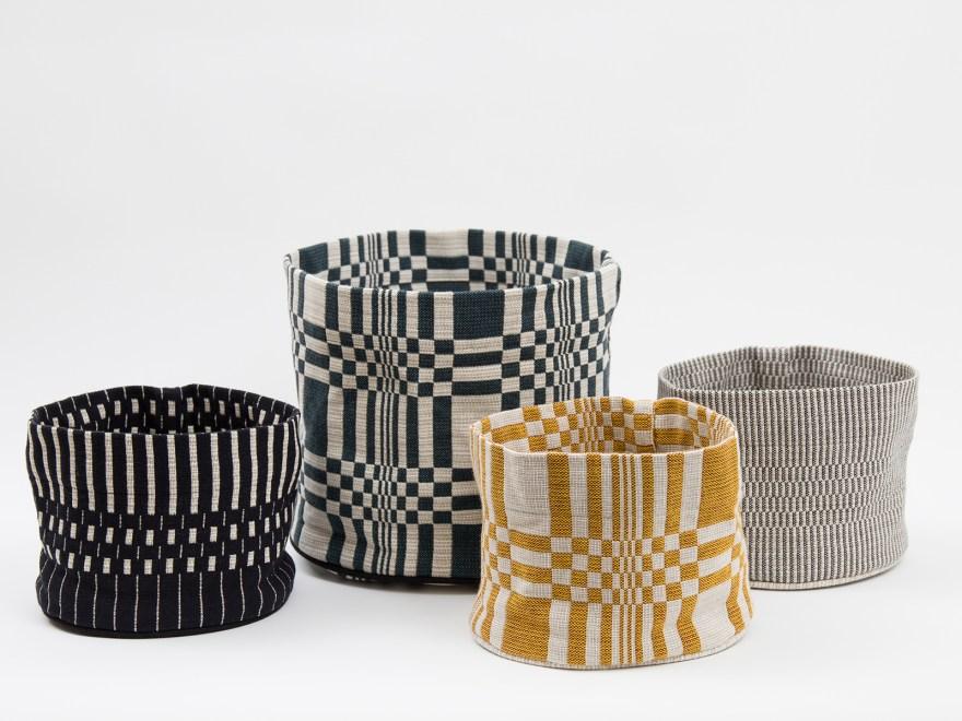 Simple and Unique Patterns – Handmade Finnish Textile Design by Johanna Gullichsen – Cushions, Baskets, Blankets…