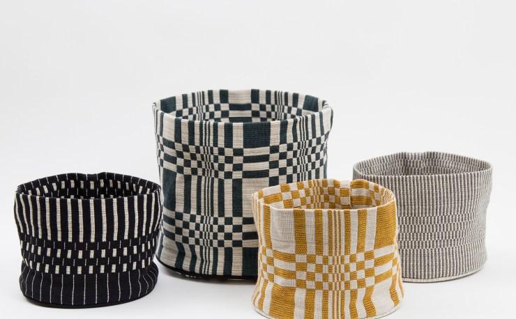 Simple and Unique Patterns - Handmade Finnish Textile Design by Johanna Gullichsen - Cushions, Baskets, Blankets... Interior 3000, Interior Design, Furniture Design, Textile Design, Design Blog
