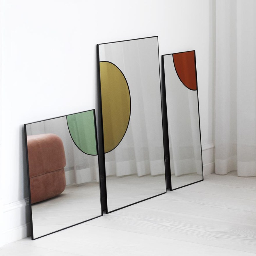 Colorful Reflections – Tivoli Mirage Mirror by Danish Design House Normann Copenhagen
