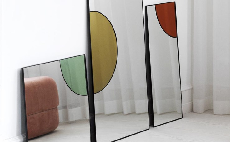 Colorful Reflections - Tivoli Mirage Mirror by Danish Design House Normann Copenhagen, Interior 3000, Design Blog, Interior Design, Furniture Design