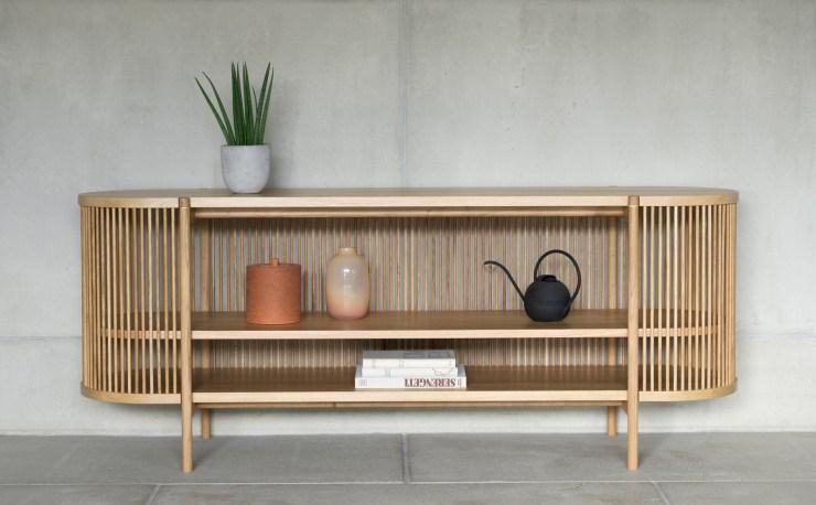 Perfect Finnish Craftsmanship - Bastone Wood Cabinet and Sideboard by Antrei Hartikainen for Poiat - Interior 3000 Design Blog, Interior Design, Furniture Design