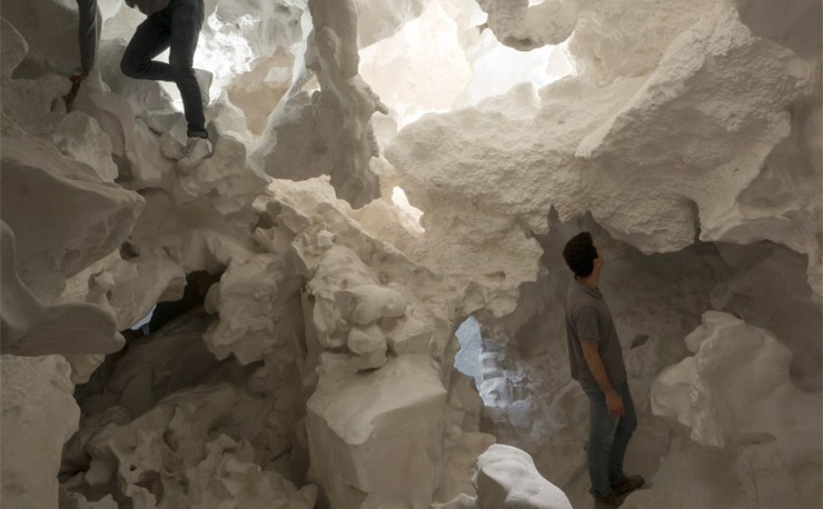 A Cloud and a Cave at Venice Biennale - Incidental Space, Swiss Pavillon Design by Architect Christian Kerez, Interior 3000, Design Bog, Interior Design, Furniture Design