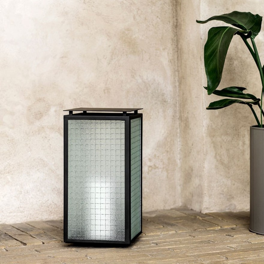 Charming and Modern Lantern for the Balcony and Garden – Haze Lantern Design by Ferm Living