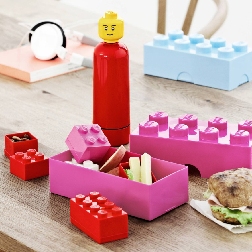 Make Your Lunch Colorful Fun – LEGO Lunch Box Storage Designs by Room Copenhagen