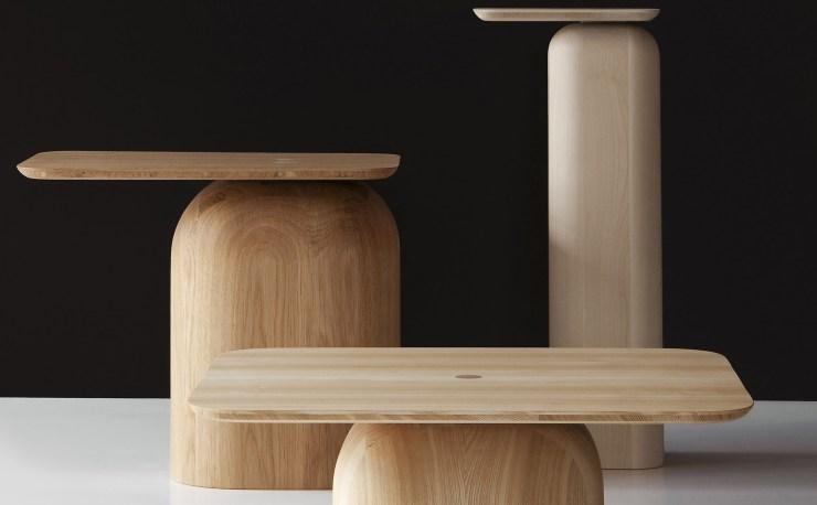 A Site Table Designs for Nature - April Table Designed by Alfredo Häberli for the Finnish Nikari, Interior 3000 Design Blog, Furniture Design, Interior Design