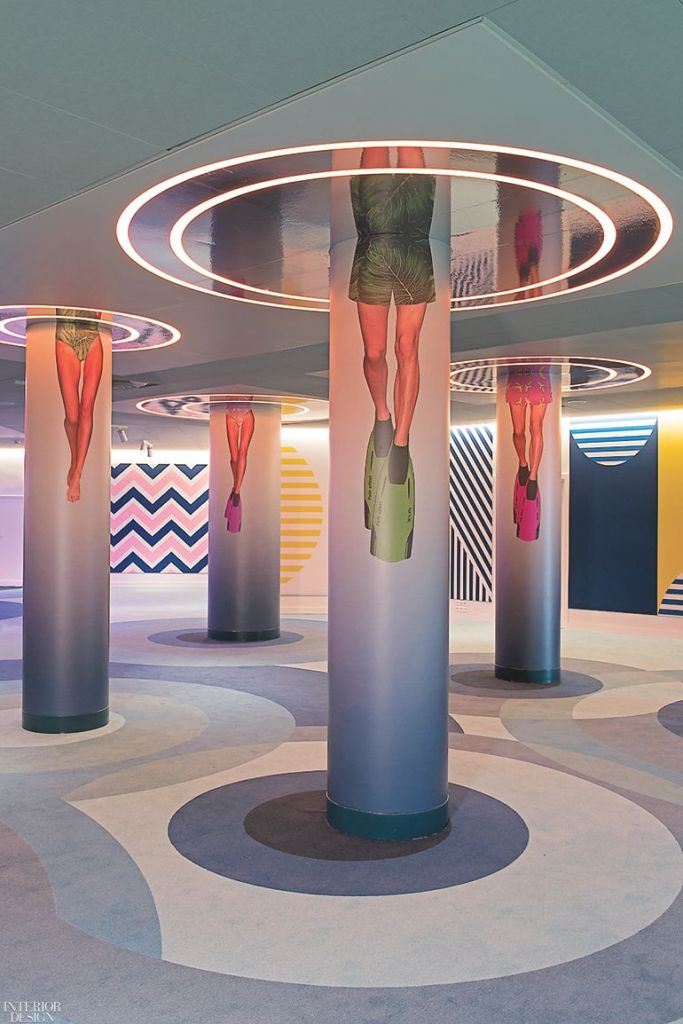 A Colorful and Vibrant Interior Design for nhow Marseille Hotel - NH Marseille Palm Beach by