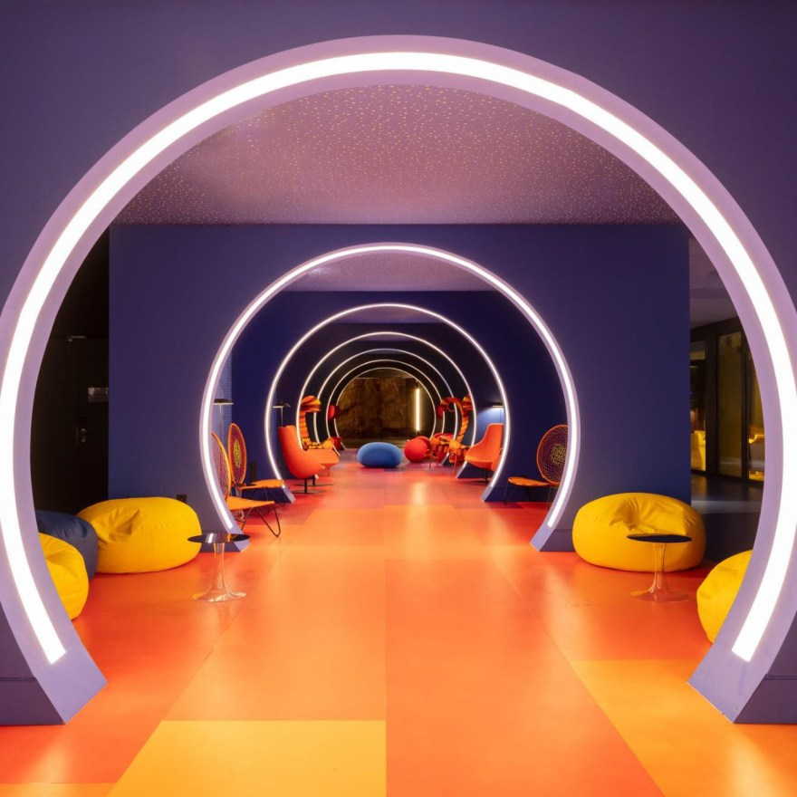 A Colorful and Vibrant Interior Design for nhow Marseille Hotel – NH Marseille Palm Beach by Teresa Sapey Studio