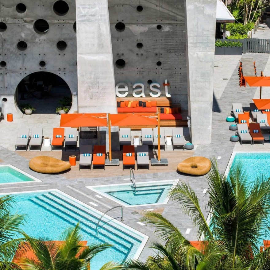 High-Hospitality and Stylish Design – EAST Miami Hotel's Unique Architecture and Interior Design