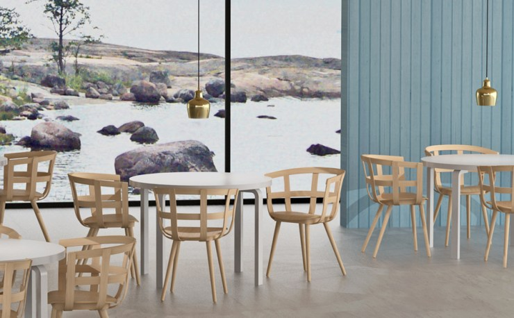 A Sculptural Plywood Chair Design - The Julie Chair by Julie Tolvanen for Inno, Interior 3000 Design blog, Interior Design, Furniture Design