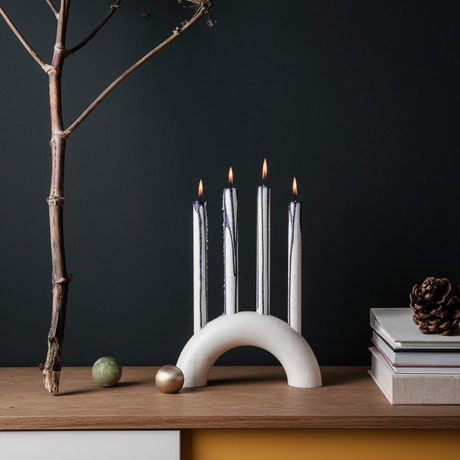 Christmas Candle Holder Design