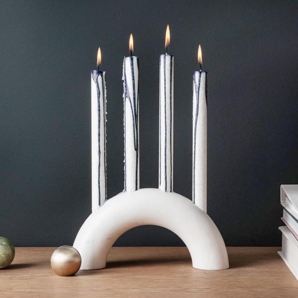 Marble Candle Holder Design