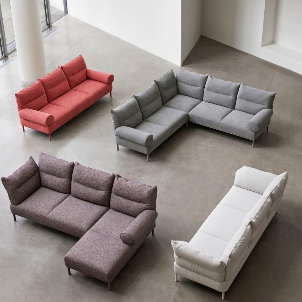 hay pandarine sofa design by inga sempe
