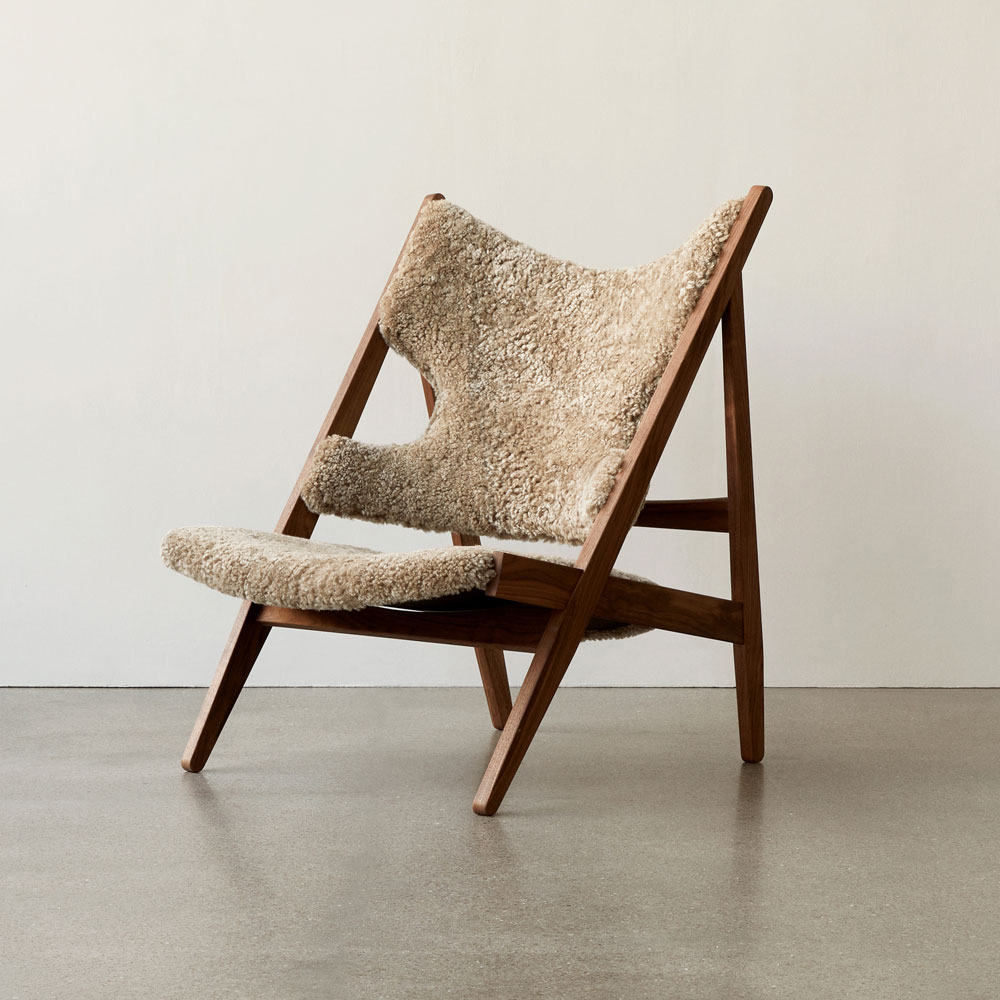 menu knitting chair by Ib kofod larsen