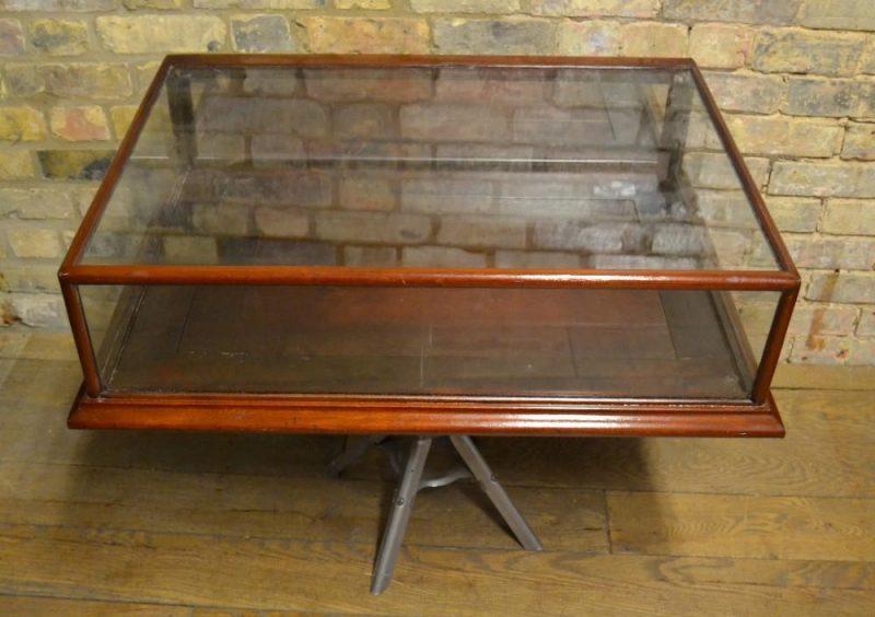 antique mahogany jewellry counter top