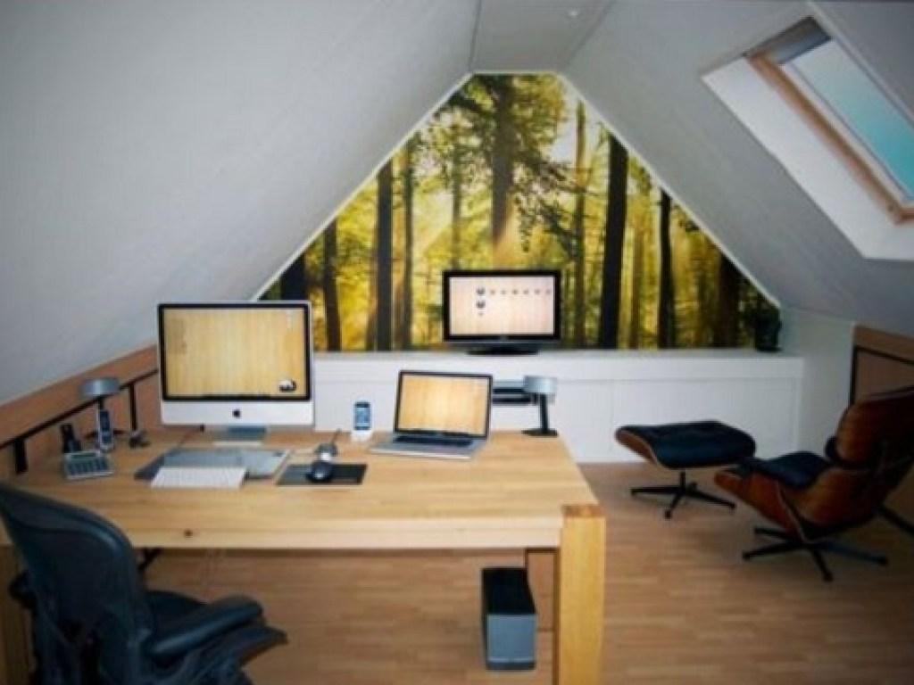 loteng rumah sebagai home office