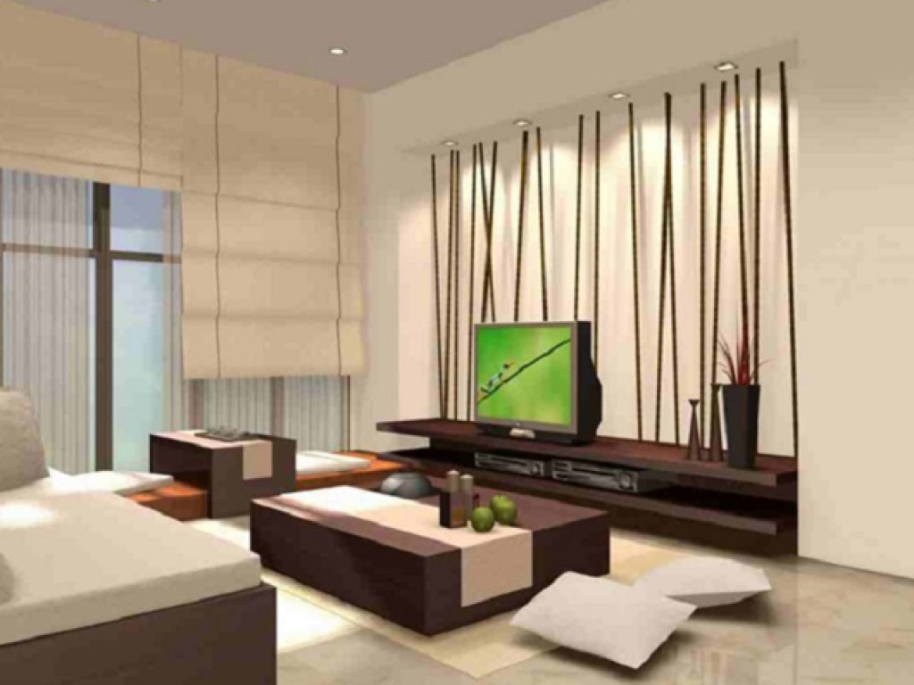 ruang tamu ala Jepang modern