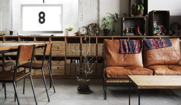 desain interior modern vintage