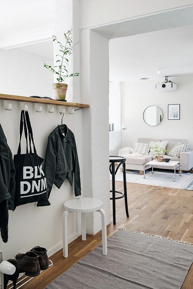Cara praktis menentukan zonasi denah lantai terbuka desain for Desain apartemen studio 21m