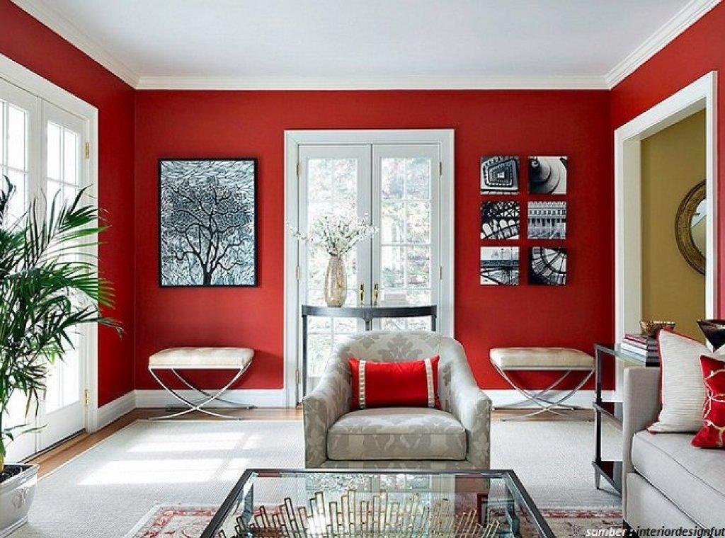 10 Warna Cat Ruang Tamu Sempit Sulap Ruangan Jadi Terasa Luas