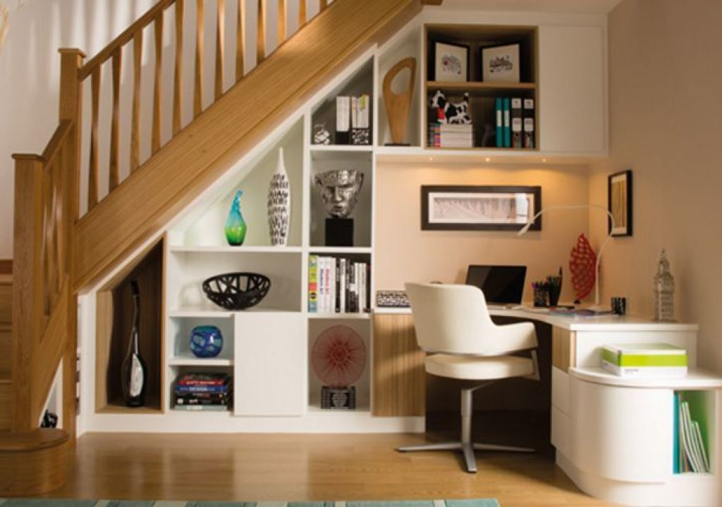 Desain Ruang Kantor Kecil Manfaatkan Sisa Ruang Yang Ada Di Rumah
