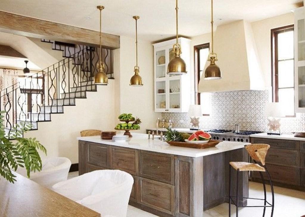 penampilan gaya desain interior mediterania ala Spanyol