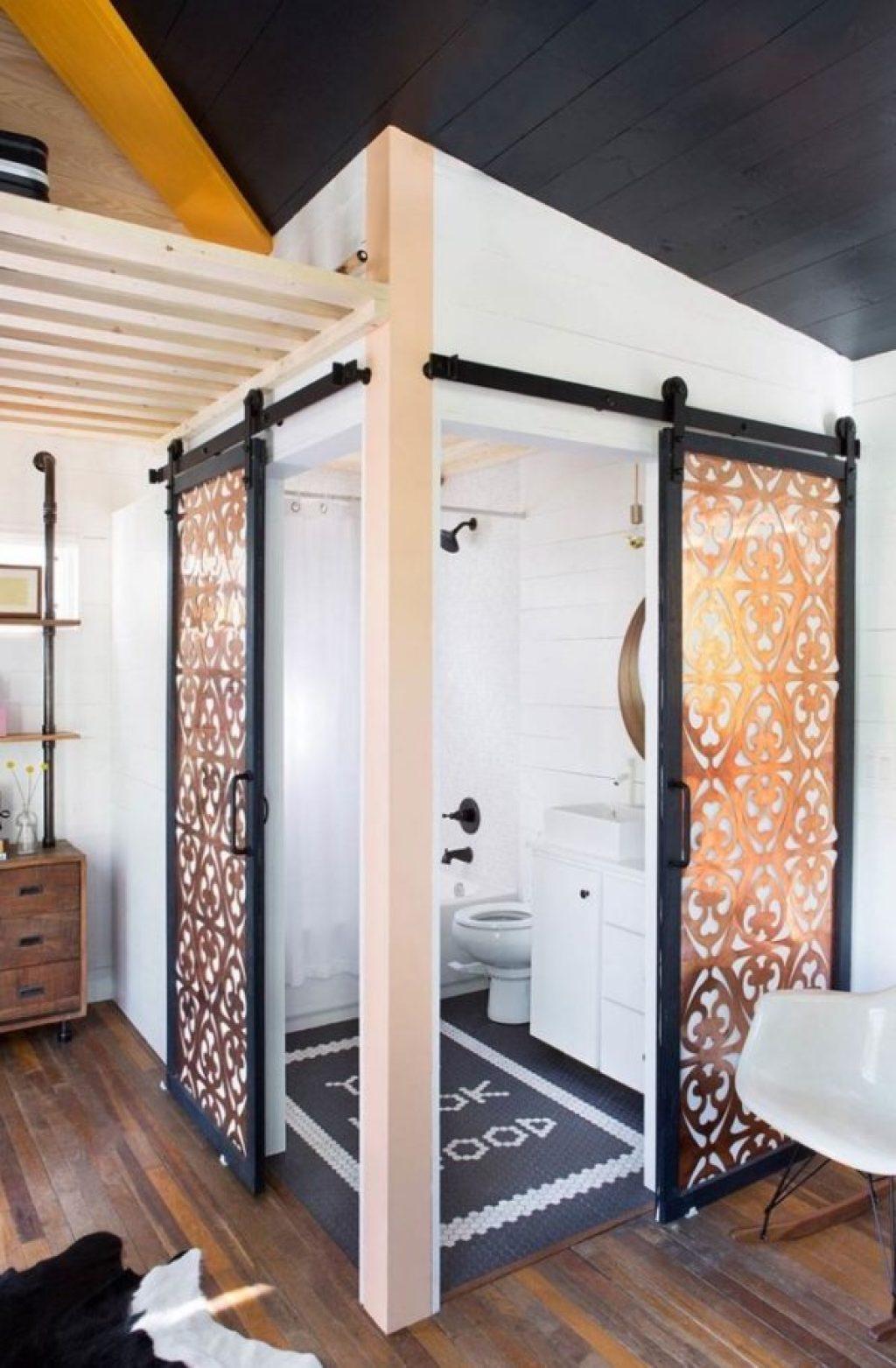 desain rumah kecil yang fungsional; desain kamar mandi