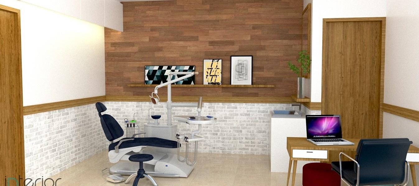 desain interior ruang bedah klinik gigi