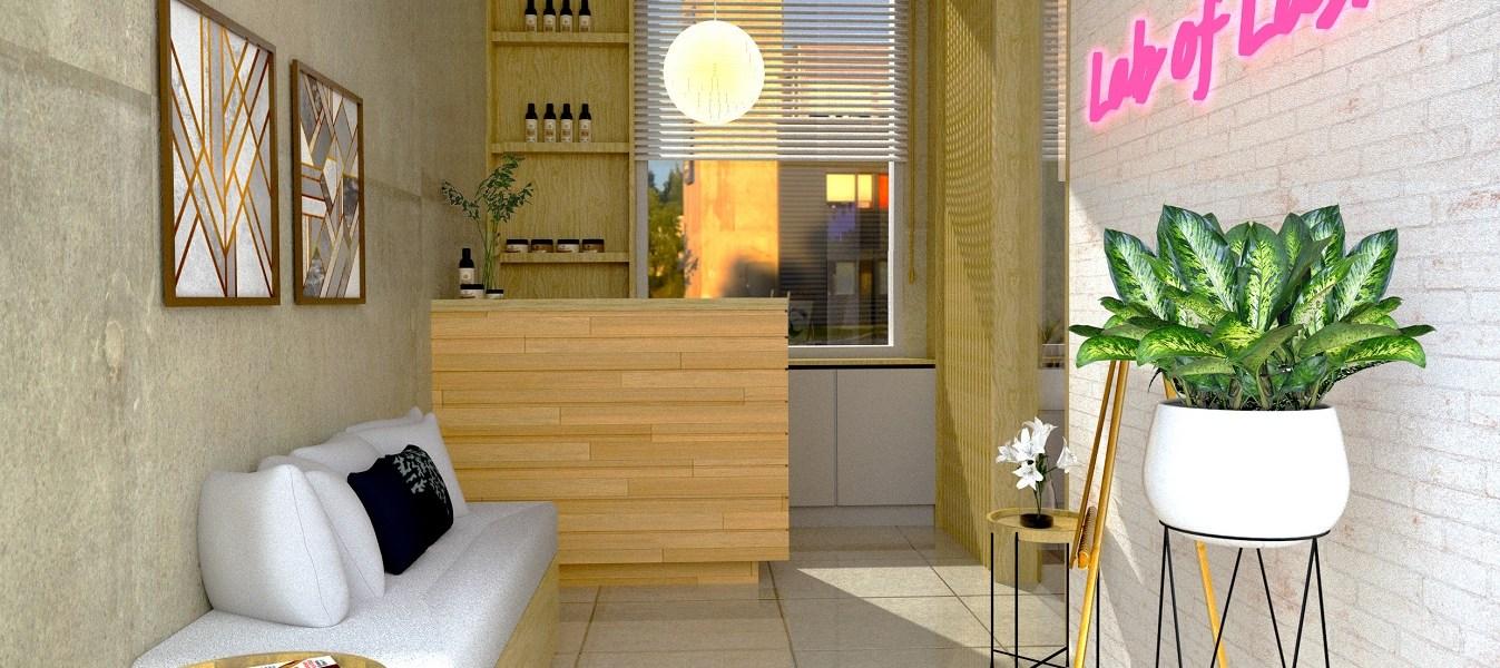 jasa desain interior klinik andung