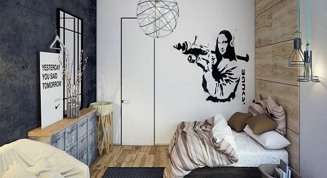 desain kamar tidur industrial4