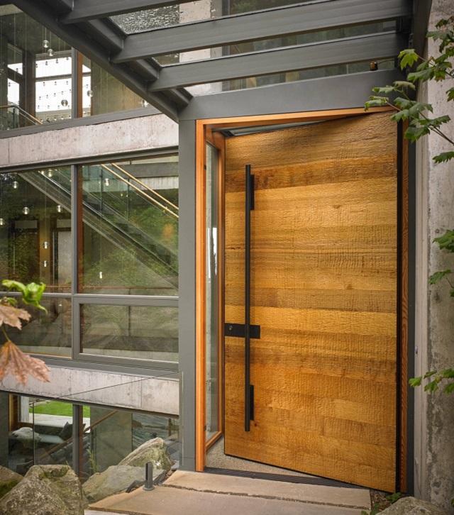 desain pintu kayu