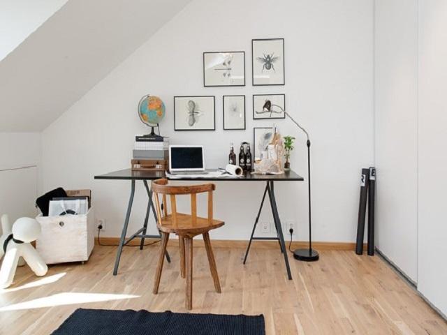 desain ruang kerja skandinavia