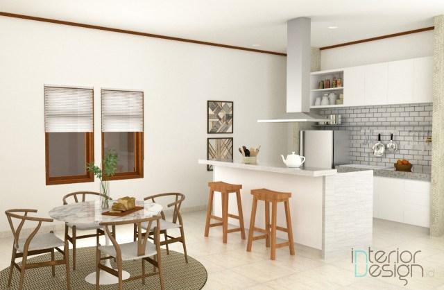 Design Interior Dapur Dan Ruang Makan Minimalis