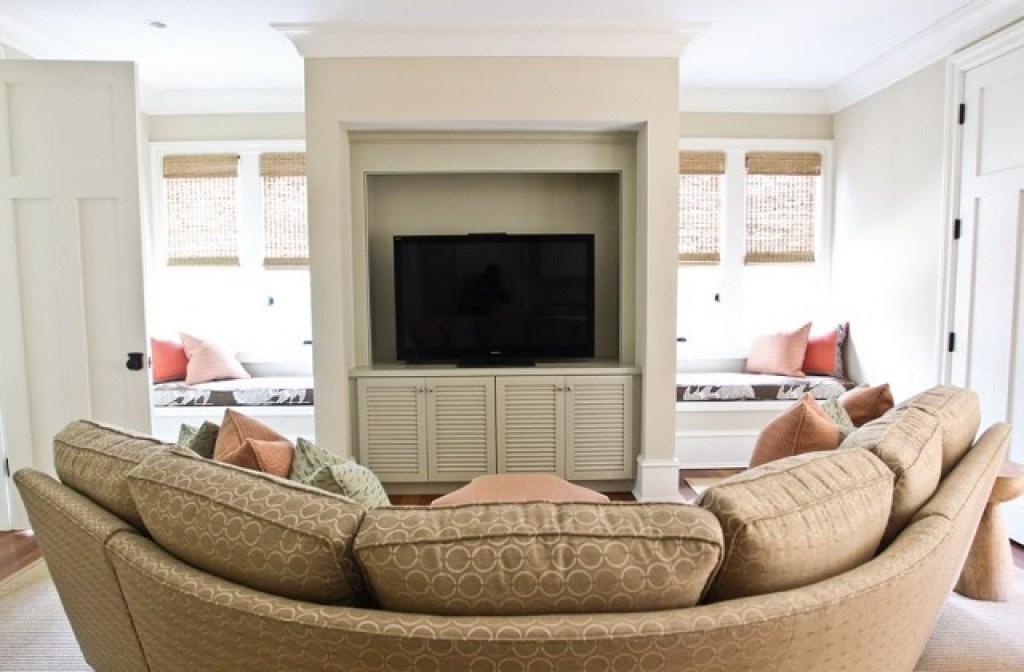 panduan menempatkan tv di dalam ruangan