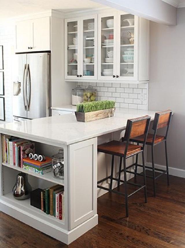 manfaat desain dapur ala mini bar
