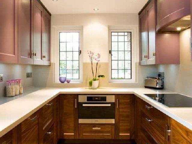 Desain Dapur Bentuk U Rancangan Dapur Kecil yang Nyaman