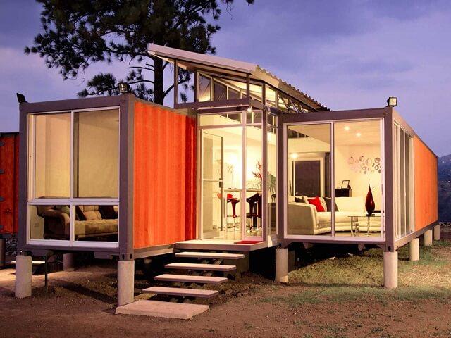 desain rumah kontainer minimalis