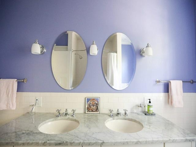 desain warna cat kamar mandi