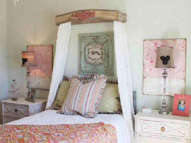 interior kamar tidur vintage