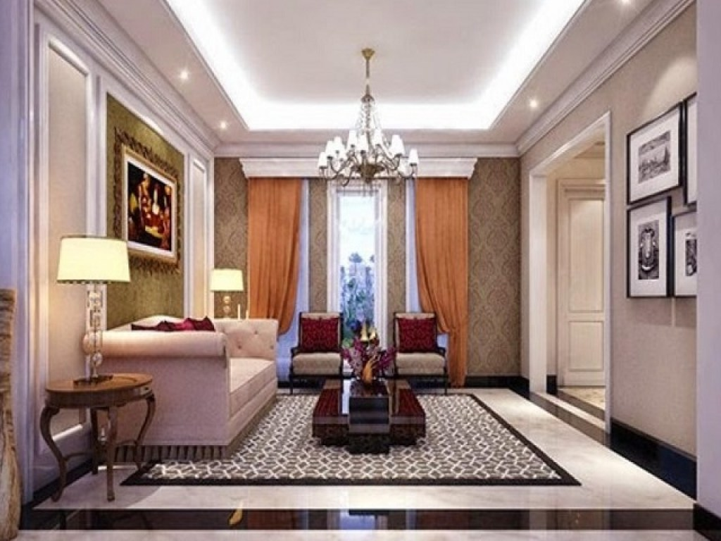 desain plafon ruang tamu