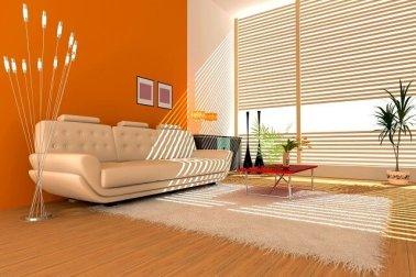 aksen warna dinding