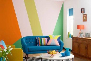 hiasan dinding ruang tamu minimalis