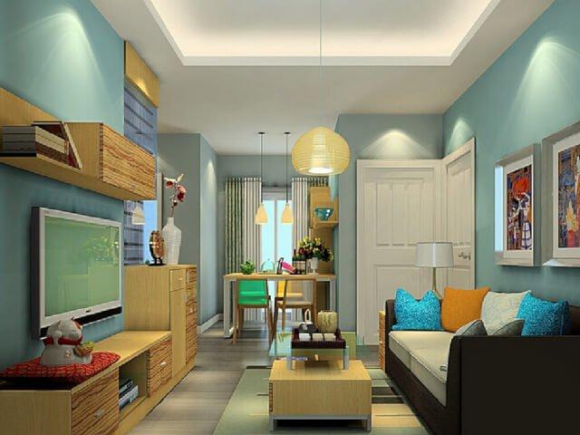 Warna Cat Rumah Minimalis Tidak Hanya Putih Dan Netral Saja