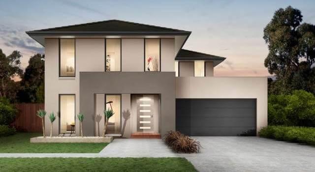 Desain Rumah 2 Lantai Hunian Modern Dengan Penampilan Yang Trendi