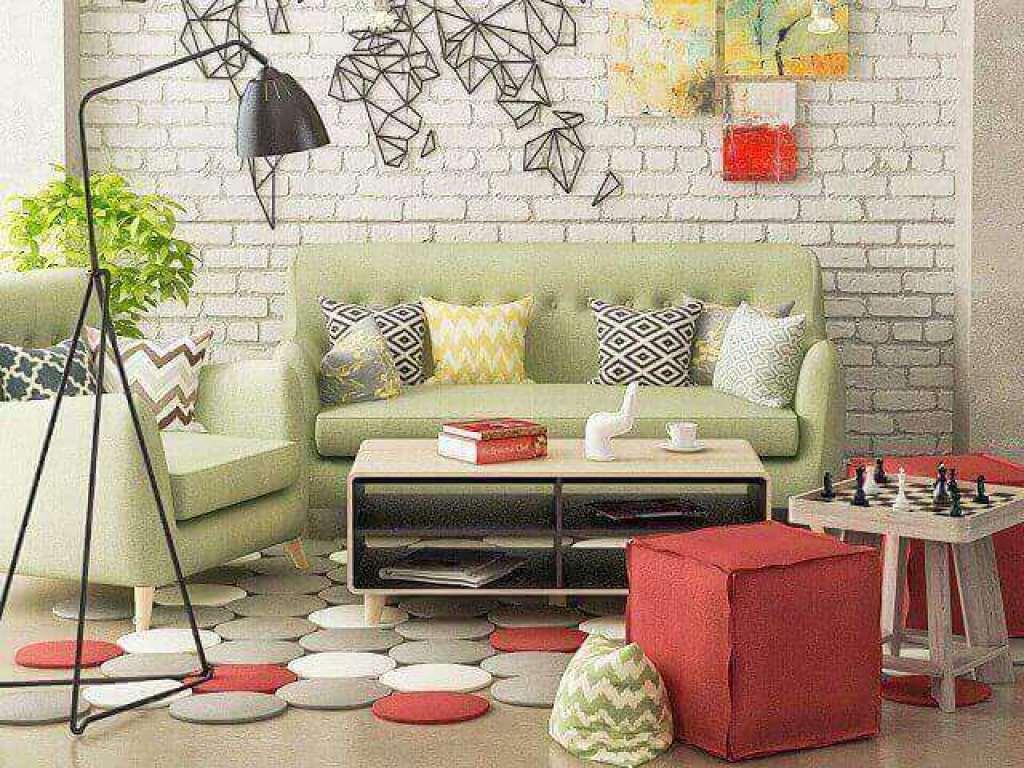 pilihan warna cat interior ruang keluarga