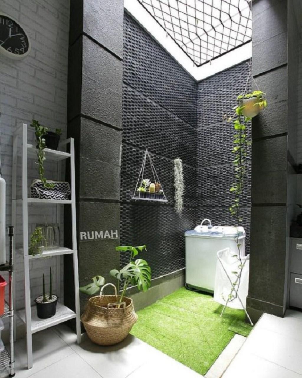 Ruang mencuci atau area laundry
