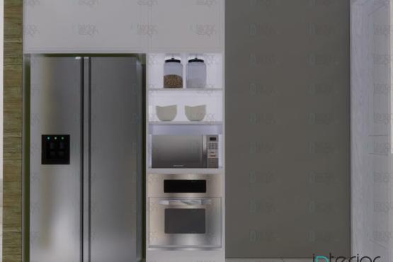 desain dapur gaya skandinavia modern